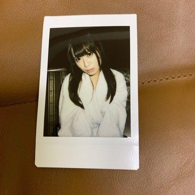 大眼長髮美少女系 日本AV女優拍立得_浴袍版2
