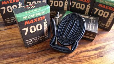 ~騎車趣~MAXXIS瑪吉斯 700*23C~32C 80mm 法式氣嘴內胎 氣嘴可拆