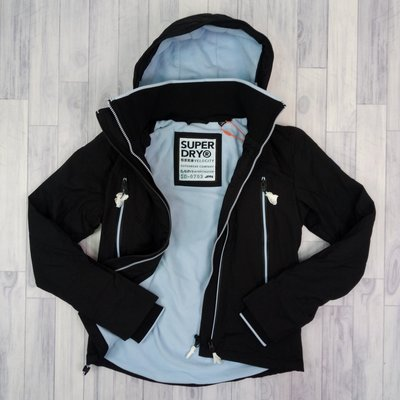 7686 BU5 尺碼2L 72KG可穿 2019全新設計款 黑藍 防風衣 刷毛 極度乾燥 女版 連帽  雙拉鍊 外套
