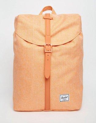 (預購商品) Herschel Supply Co Post 粉橘 雪花 帆布 貼布 LOGO 水桶 後背包
