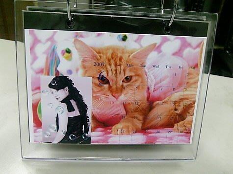 DIY情人桌曆材料包~壓克力桌上型可放13張情人月曆照片  情人節.偶像.寵物.文創.動漫