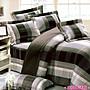 100%純棉_ 雙人鋪棉床罩兩用被全套六件組。...