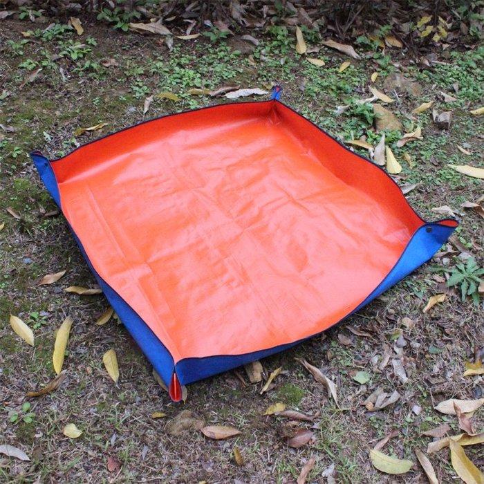 預售款-WYQJD-多肉換盆地墊園藝換土墊家用防水PE操作地墊翻盆換土花墊多肉工具