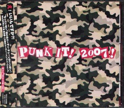 K - Punk It! 2007! - 日版 CD - NEW Mxpx,Boozed,Slimboy,Gob