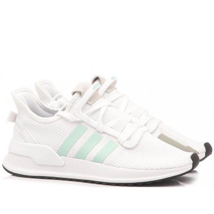 Washoes adidas Originals U_PATH RUN W 白 灰 綠 G27649 慢跑鞋 女鞋04