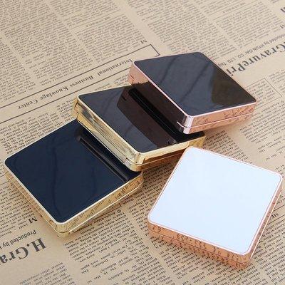 299起售*DIY方形薄款磁扣氣墊盒子空盒外殼替換裝BBCC霜粉底液帶海綿粉撲#口紅管#自製#唇膏管#模具