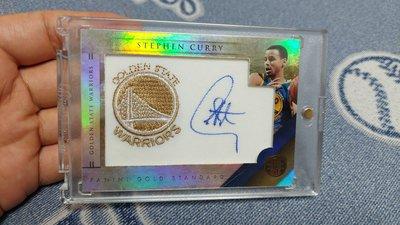 限量199張,勇士隊 Stephen Curry 球衣 Patch 親筆簽名卡