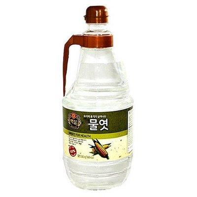 匯盈一館~韓國CJ白雪牌玉米料理糖漿2.45KG 料理果糖漿料理糖漿~煎炒煮炸/涼拌都適合喲