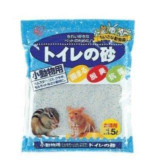 ☆汪喵小舖2店☆ 日本 IRIS 寵物鼠用廁所砂1.5L 約975克