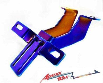 【 輪將工坊 】TCM BWS  鍍鈦牌架組 翹牌器 原廠尾燈 KOSO R6  卡夢1098 Z1000