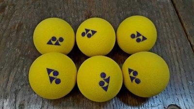 總統網球(自取可刷國旅卡)YONEX Sponge Ball 10 兒童網球 安全 海綿 網球 6入裝 特價 320元