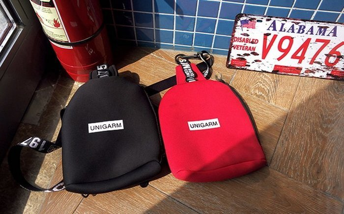 【JP.美日韓】質感 太空面料 掛包 腰包 側背包 外出包  超輕薄 透氣  休閒 外出包