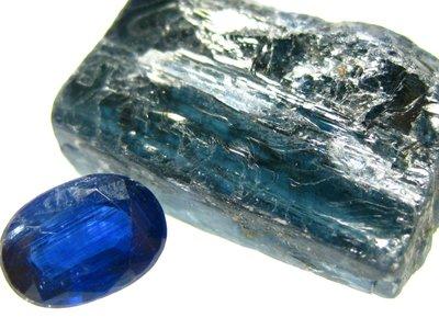 【Texture & Nobleness 低調與奢華】寶石標本&原礦 @藍晶石 & 原礦 Ks1