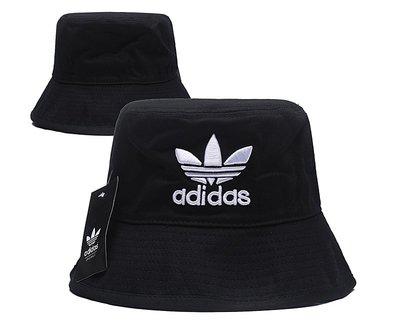 2020年新款愛迪達 出口外貿三葉草漁夫帽  遮掩帽 休閒帽 旅行情侶迷彩多色可選 帽