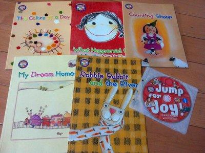 佳音英文繪本叢書 Jump for Joy English Reader 第1套(5本讀本+5CD)