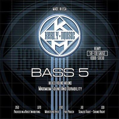 ☆ 唐尼樂器︵☆ Kerly Strings 冰火弦 KQXB-50130 (50-130) 美製 Bass 電貝斯弦(5弦/五弦用)