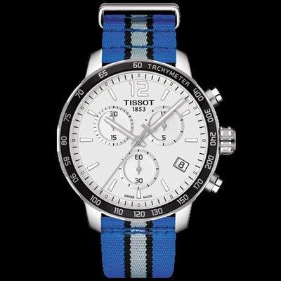 Tissot 天梭時捷系列NBA球隊款尼龍帶石英男腕錶奧蘭多魔術隊 T0954171703731