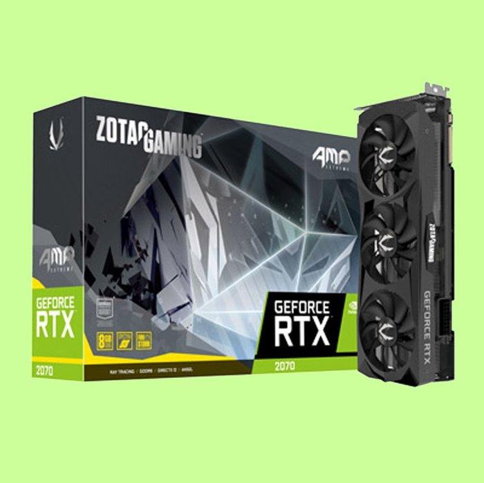 5Cgo【聯強】ZOTAC索泰 GAMING GeForce RTX 2070 AMP Extreme 顯示卡 含稅