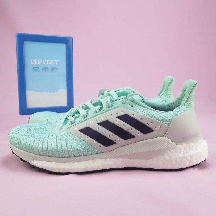 【iSport愛運動】adidas 愛迪達 SOLAR GLIDE ST 籃球鞋 B96308 女款 藍綠