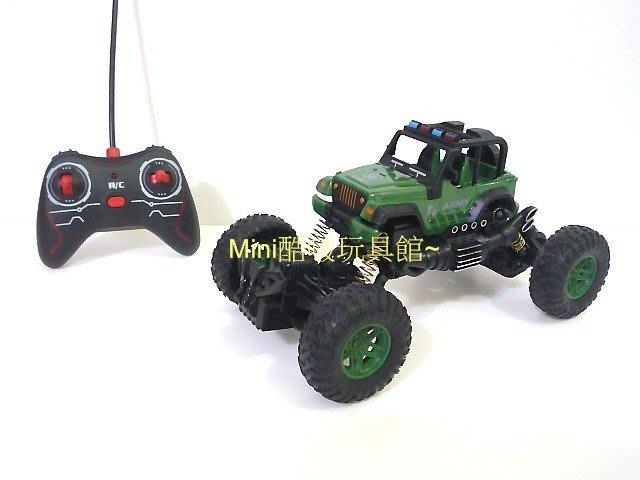 1/18 1:18無線遙控越野車-遙控車-大腳車-攀爬車-仿 jeep 小藍哥吉普車