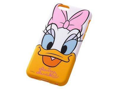 尼德斯Nydus~* 日本 迪士尼 唐老鴨 黛西 Daisy 軟殼 手機殼 大臉款 4.7吋 iPhone6