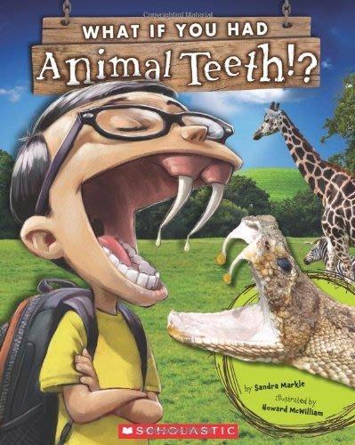 ~小貝比的家~WHAT IF YOU HAD ANIMAL TEETH 平裝 7~12歲