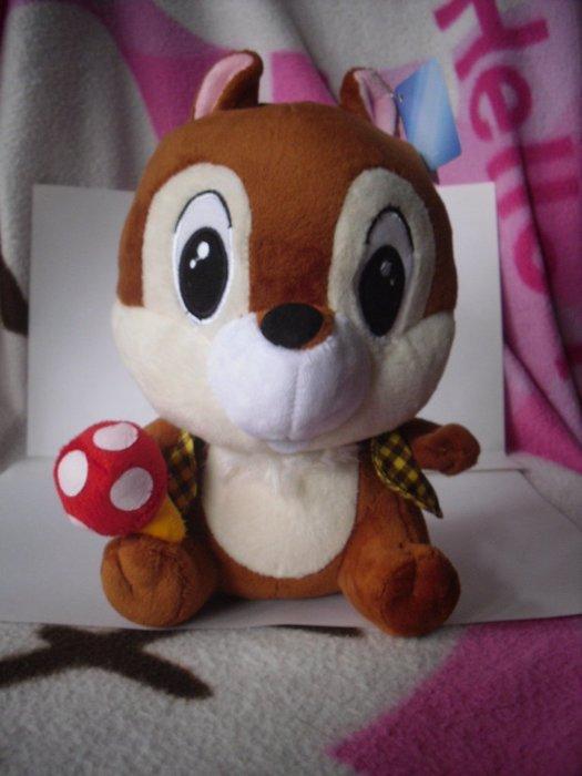 花栗鼠 8吋 可愛玩偶 正版授權商品