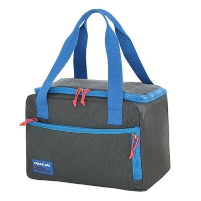 ZIHOPE 便當手提包裝飯盒的袋子方形帶飯包女保溫袋鋁箔加厚大號手提防水ZI812