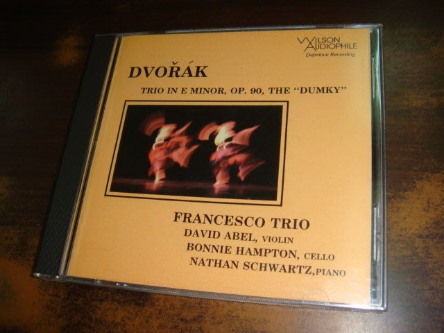 好音悅 WILSON AUDIOPHILE 發燒銘盤 Dvorak Piano Trio Dumky 美版 無IFPI