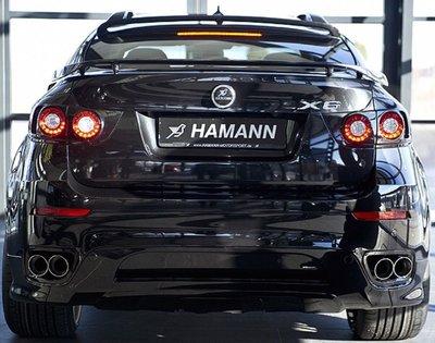 國豐動力 BMW X6M E71 X5M E70 HAMANN 正廠原裝 後段排氣管限量一套 特價出清 歡迎洽詢