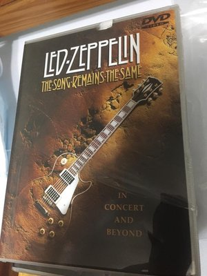 全新 DVD 歐版 Led Zeppelin / the song remain the same