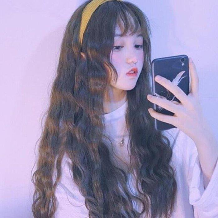 YEAHSHOP 韓式長假髮玉米燙假髮女長捲髮大Y185
