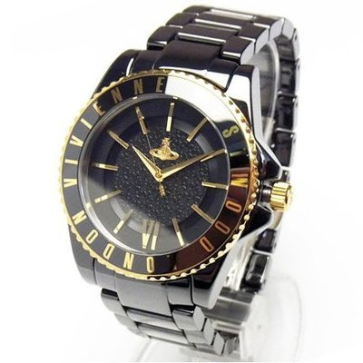 Vivienne Westwood 手錶 Ceramic 精密 陶瓷 女錶 生日 禮物 VV048GDBK