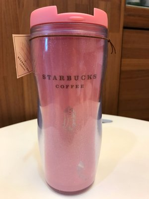 星巴克 Starbucks 台灣 2010年 虎年限定 粉紅隨行杯 12oz 全新未使用 只有一個