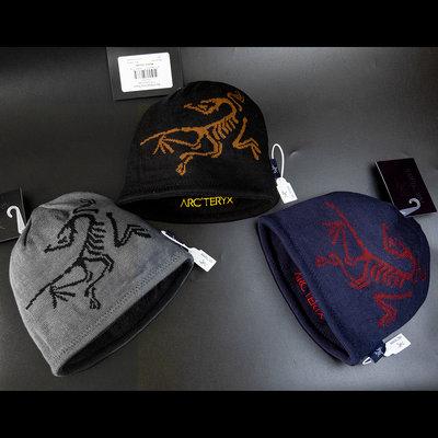 加拿大頂級戶外品牌Arc'Teryx 始祖鳥Word Head Long Toque雙面毛帽 加拿大製