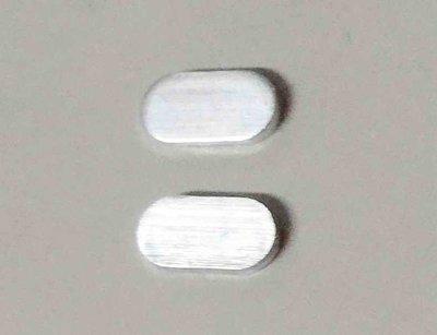 沖壓製造加工 厚度 1.7mm 橢圓鋁片 12.6*6.6mm