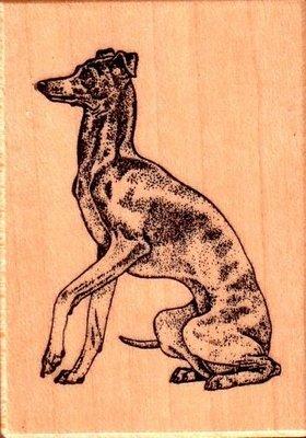 陽光一品DIY卡片印章專賣店~~PSX木頭印章--狗~# D644#~~美國製絕版品