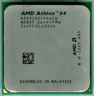 【偉鑫資訊】AMD Athlon64 X2 ( 3000 / 3200 ) CPU處理器