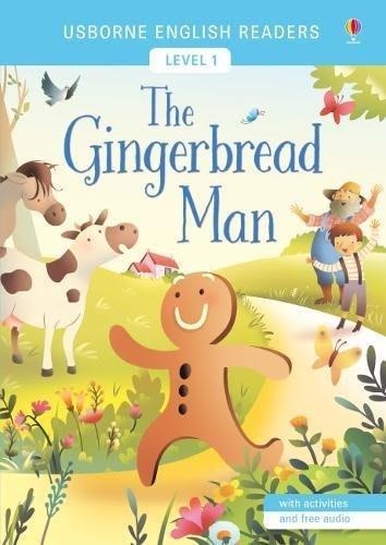 *小貝比的家*USBORNE ENGLISH READERS:THE GINGERBREAD MAN/平裝/3~6歲