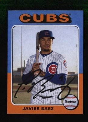 2019 Topps Archives #193 Javier Baez - Chicago Cubs
