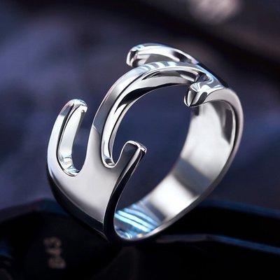 無頭騎士異聞錄周邊戒指折原臨也COS動漫925純銀指環男女情侶對戒