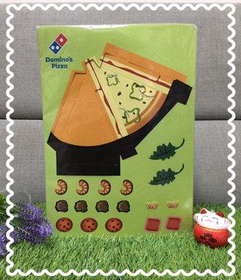 【無限美好】隨便賣了啦!兒童最愛!達美樂DIY披薩黏貼手作/紙製品,一組8張/現貨