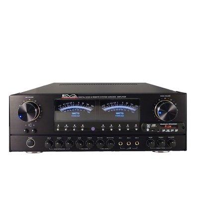 【EVA影音】EVA超好唱震撼大功率500W卡啦OK兩用擴大機藍牙/USB/FM