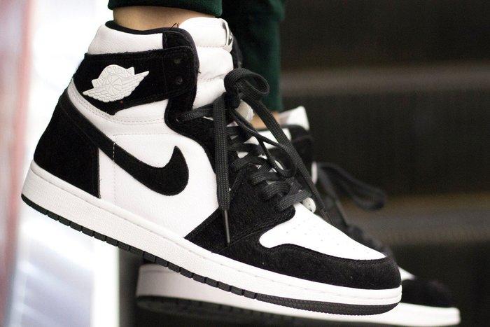現貨 23 23.5 24 25.5 Air Jordan 1 High Panda 熊貓 貓熊 女鞋 女尺 黑白