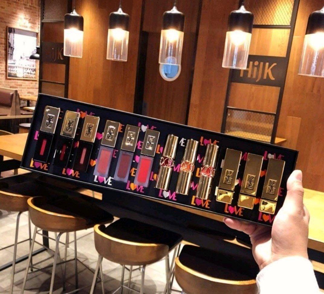 YSL聖羅蘭 彩妝禮盒12件組 (免運中)