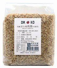橡樹街3號 Dr.OKO 有機原生種燕麥 500g/包【A05005】