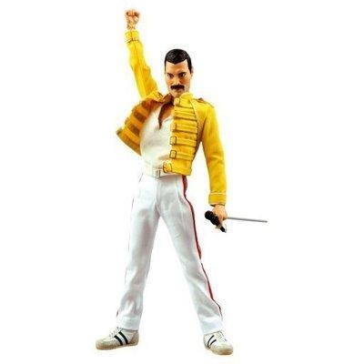 12吋   波西米亞狂想曲 medicom Queen (皇后樂隊)主唱 Freddie Mercury(佛莱迪 )