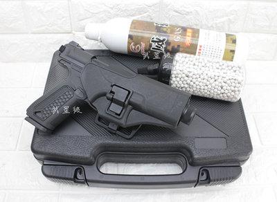 台南 武星級 Action Army AAP-01 瓦斯槍 黑+12KG 瓦斯+0.2g BB彈+槍套+槍盒