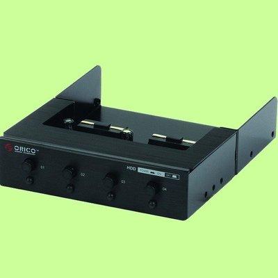 5Cgo【權宇】多系統開機ORICO HD-PW4101光碟機面板改成連接4顆硬碟開關電源切換器硬碟工作控制器含線材含稅