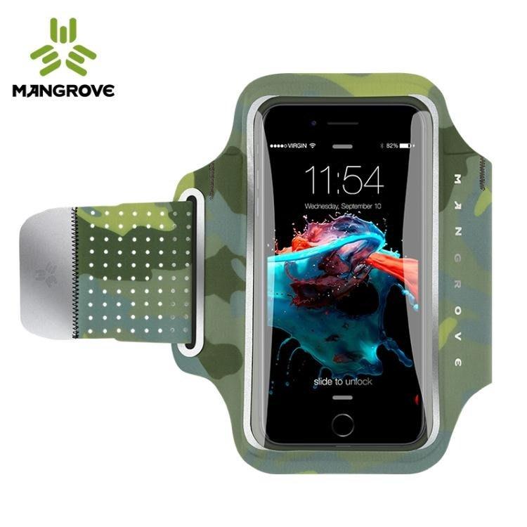 運動臂包跑步手機臂包可觸屏運動手機臂套手  古月醬子館